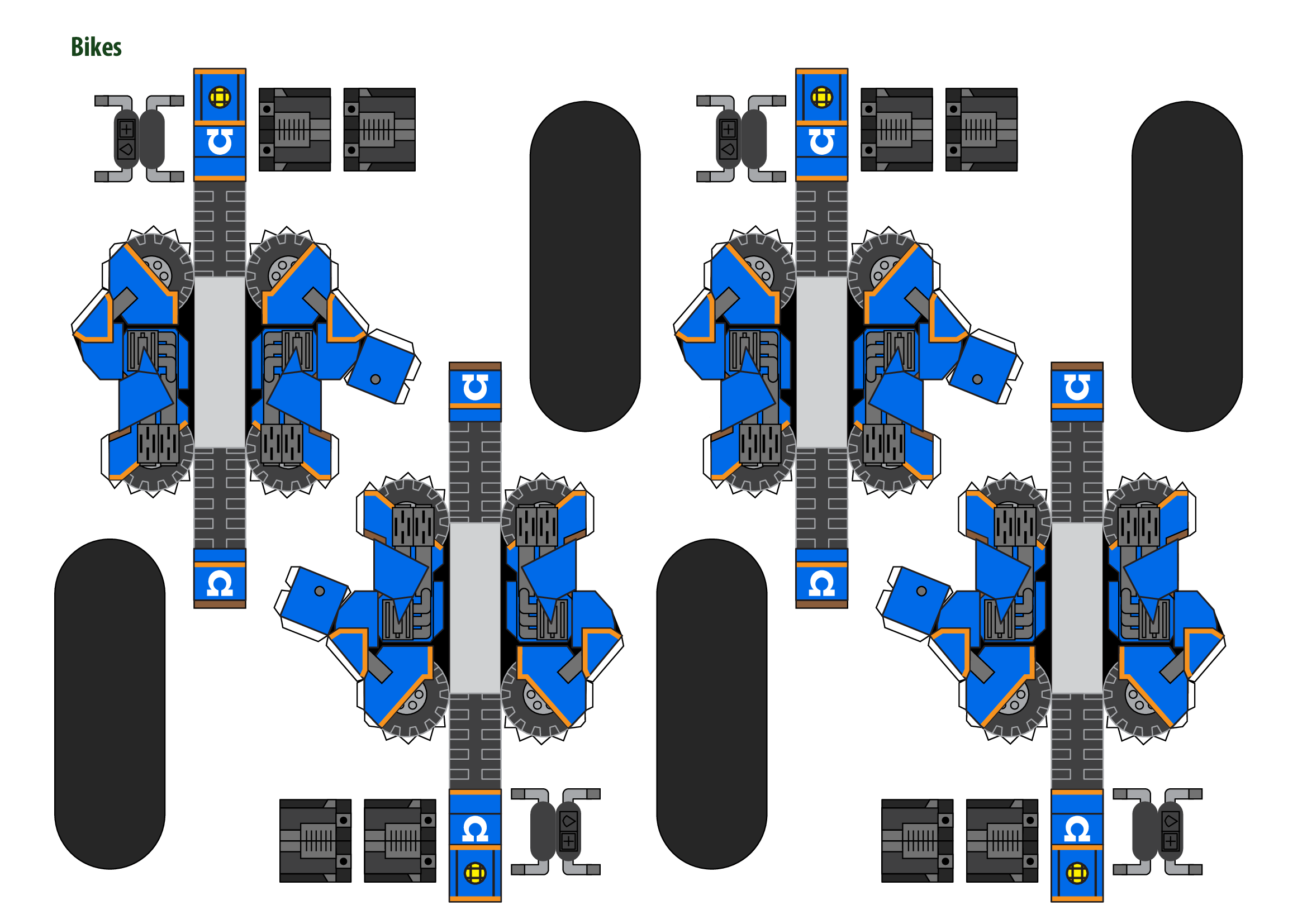 Papercraft Warhammer 40K Space Marine 5