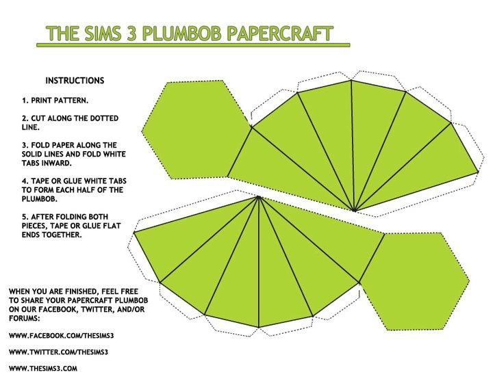 The Sims 3 Plumbob Green