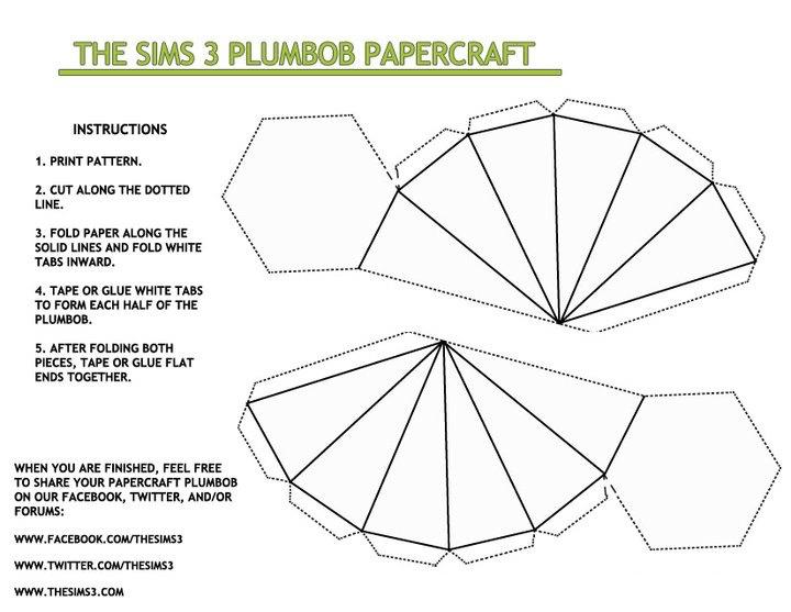 The Sims 3 Plumbob White