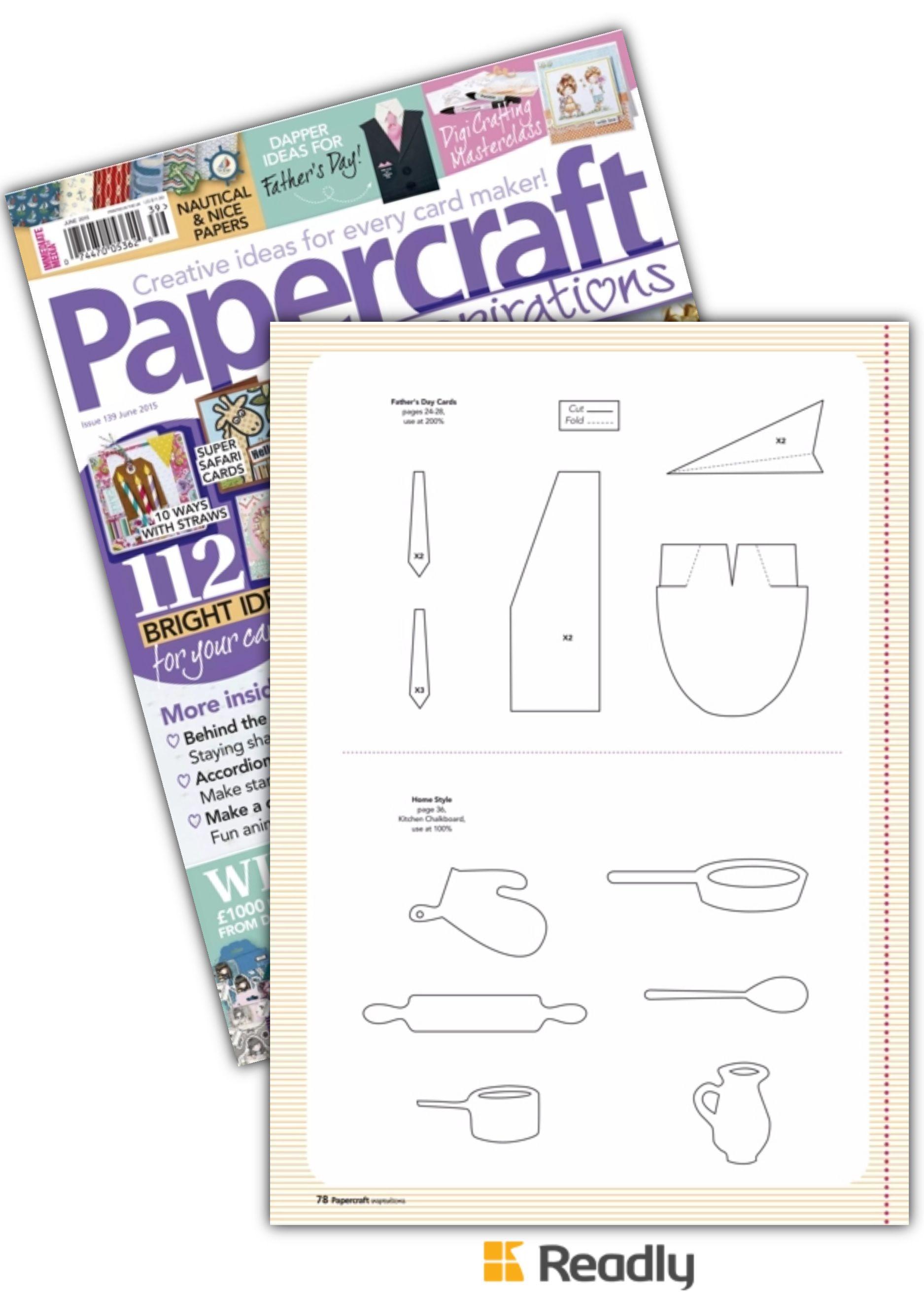Amazing Papercraft Suggestion About Papercraft Inspirations Jun 2015 Page 78