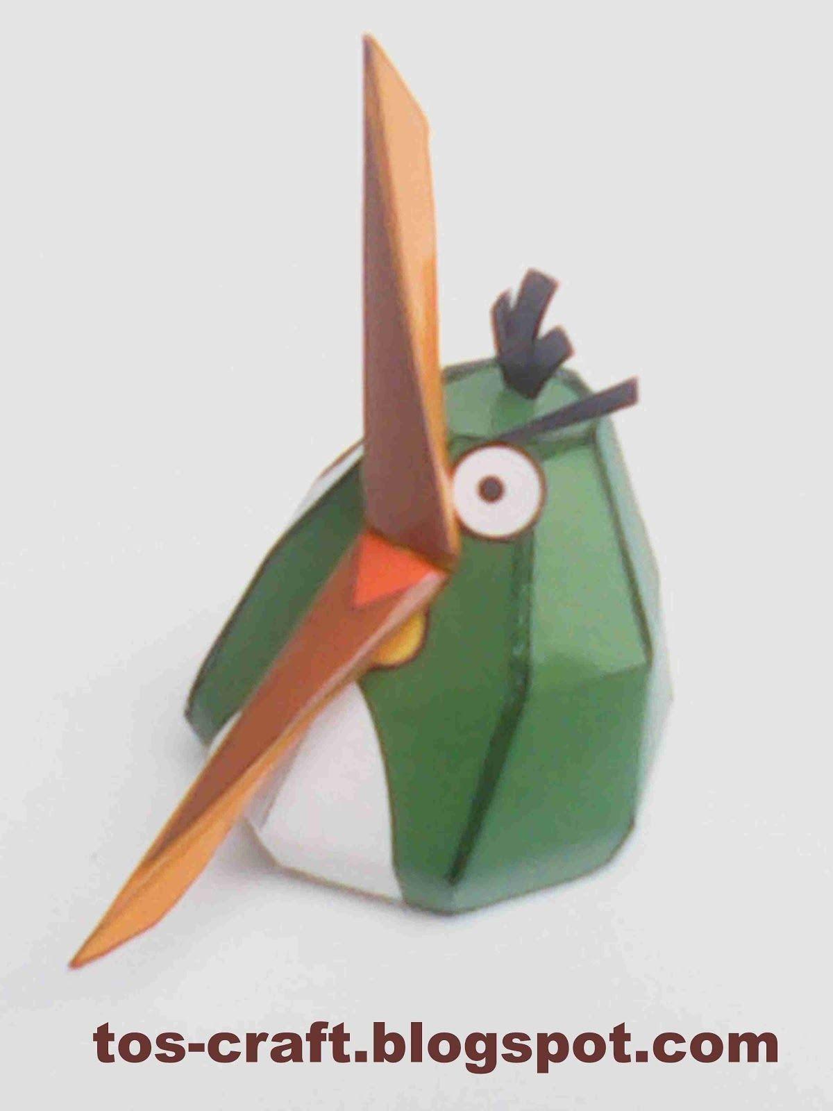 Angry Birds Papercraft Angry Birds Papercraft Hal Angry Birds Papercraft