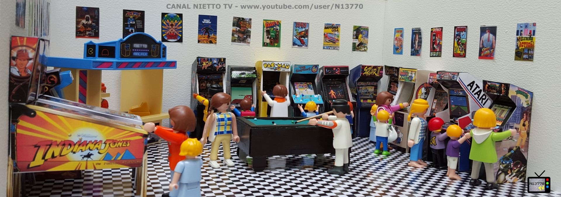 Arcade Papercraft Arcade Nietto 03 N Tv