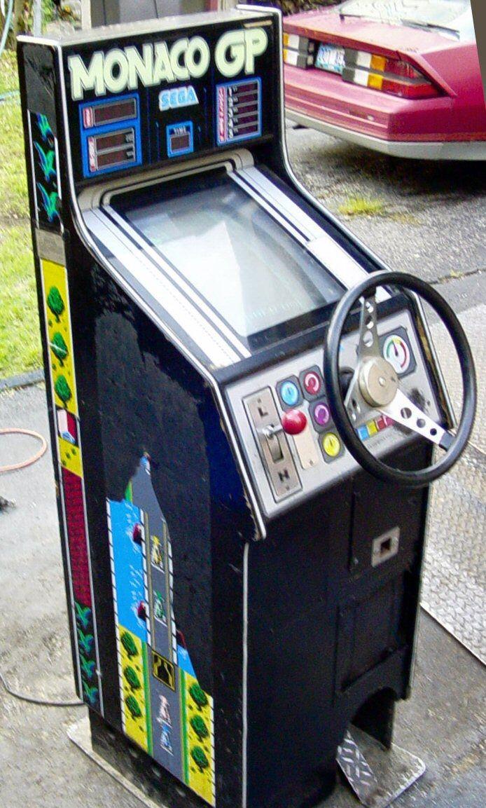 Arcade Papercraft Monaco Gp 1979 by Gremlin Sega Arcade Fun