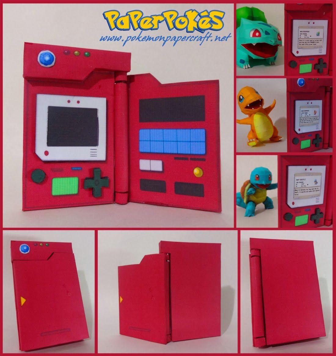 Arcade Papercraft Paperpokés Pokémon Papercrafts Geeky Diy