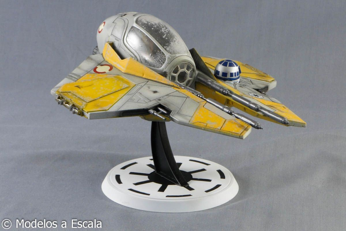 Arwing Papercraft Anakin Jedi Star Fighter 01 1200—800 Arwing