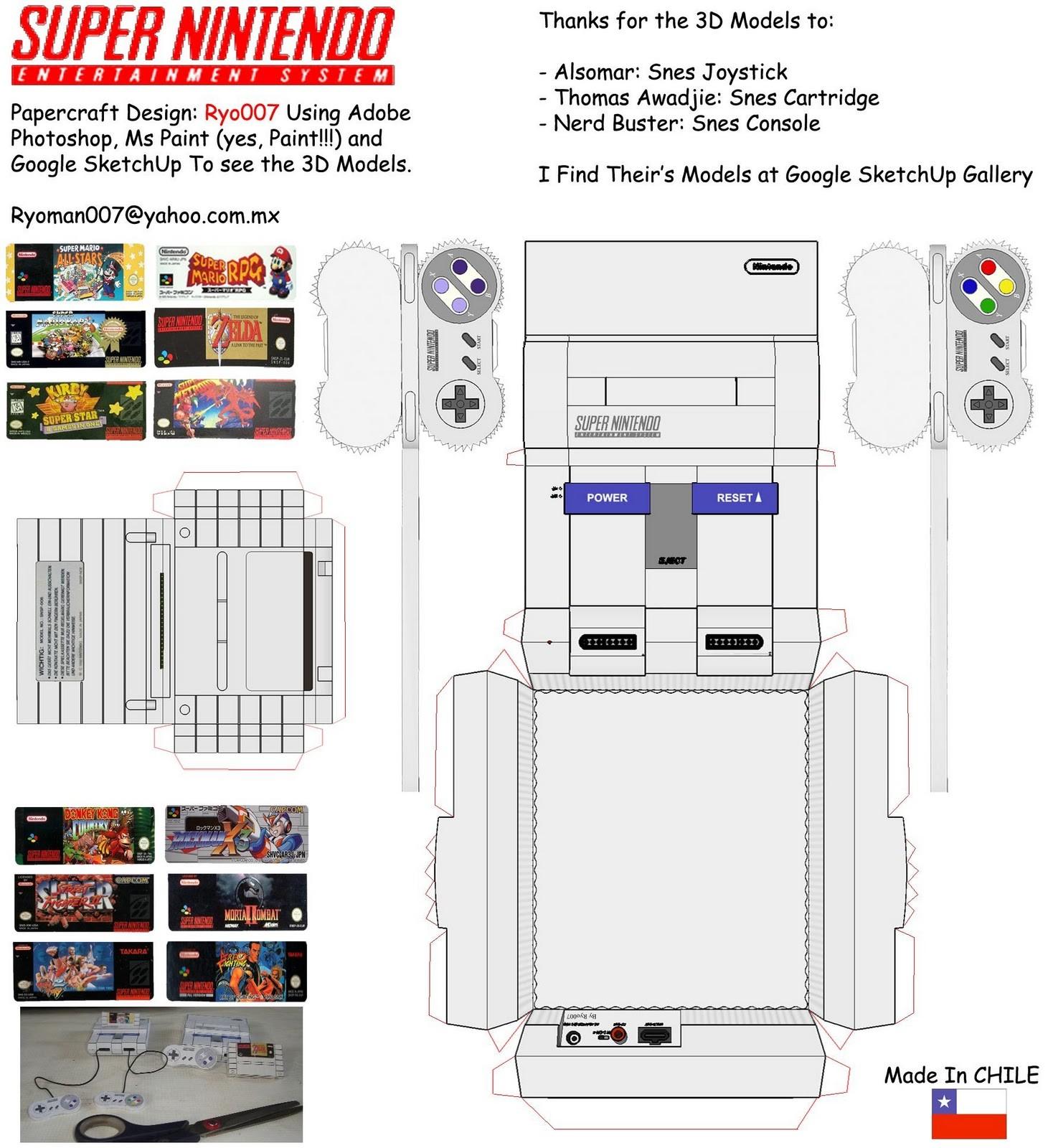 Arwing Papercraft Nintendo Papercraft Papercraft