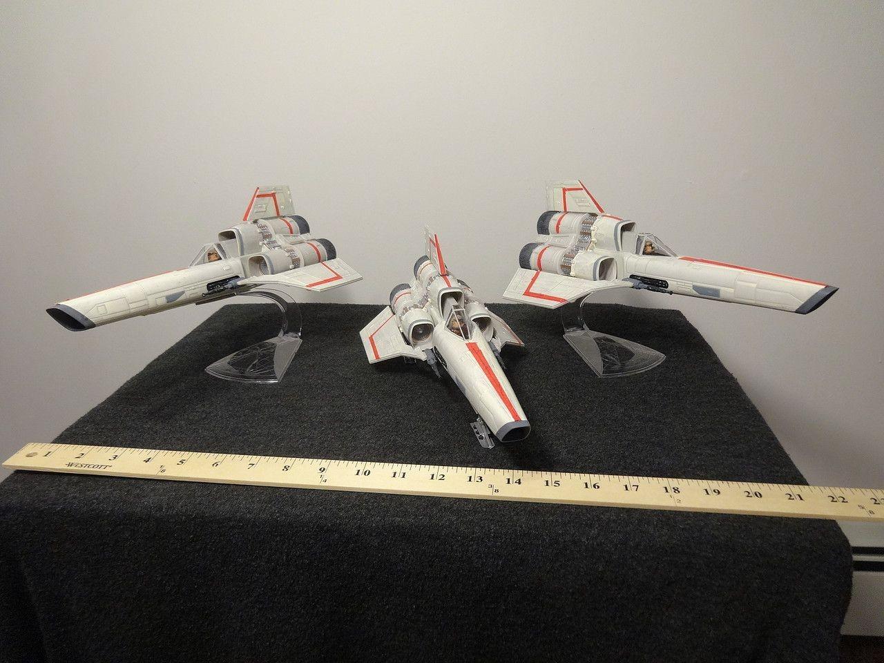 Battlestar Galactica Papercraft Battlestar Galactica original Mki Viper Plastic Model Kit In 1 32
