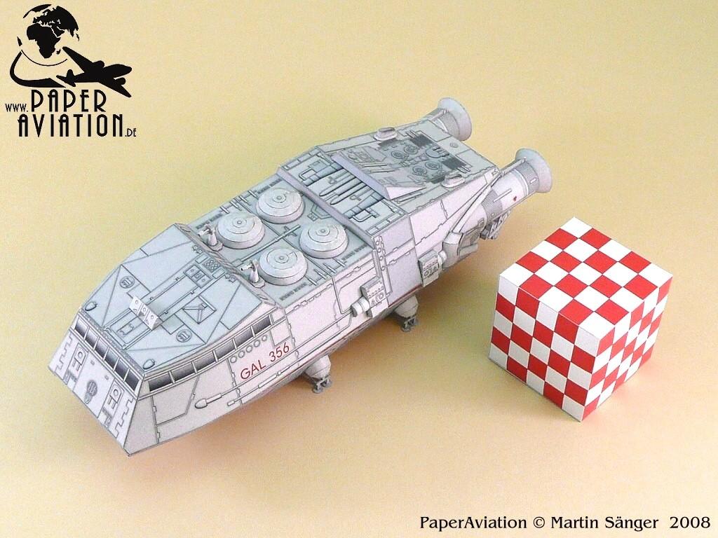 Battlestar Galactica Papercraft Ninjatoes Papercraft Weblog October 2011