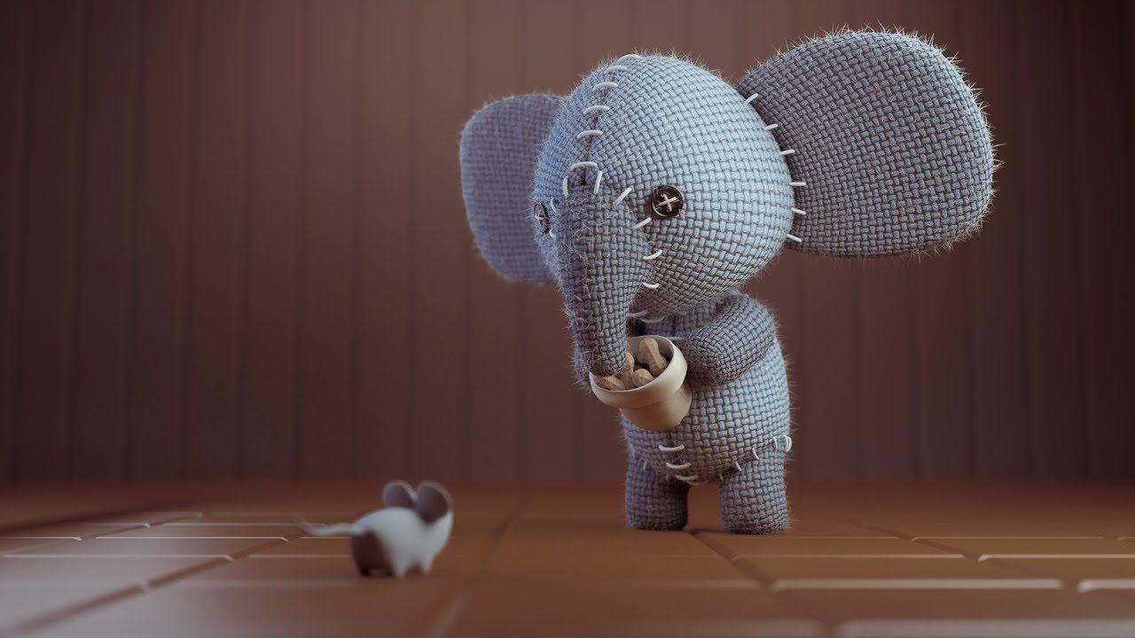 Blender Papercraft Cgc Classic Creating A Stuffed Elephant Pt 2 Textures Render