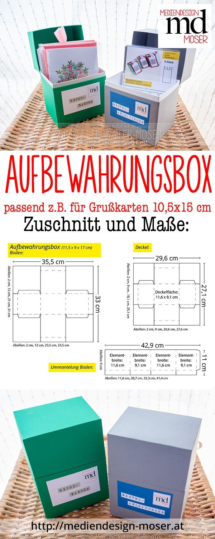 Box Papercraft Aufbewahrungsboxen графика Pinterest
