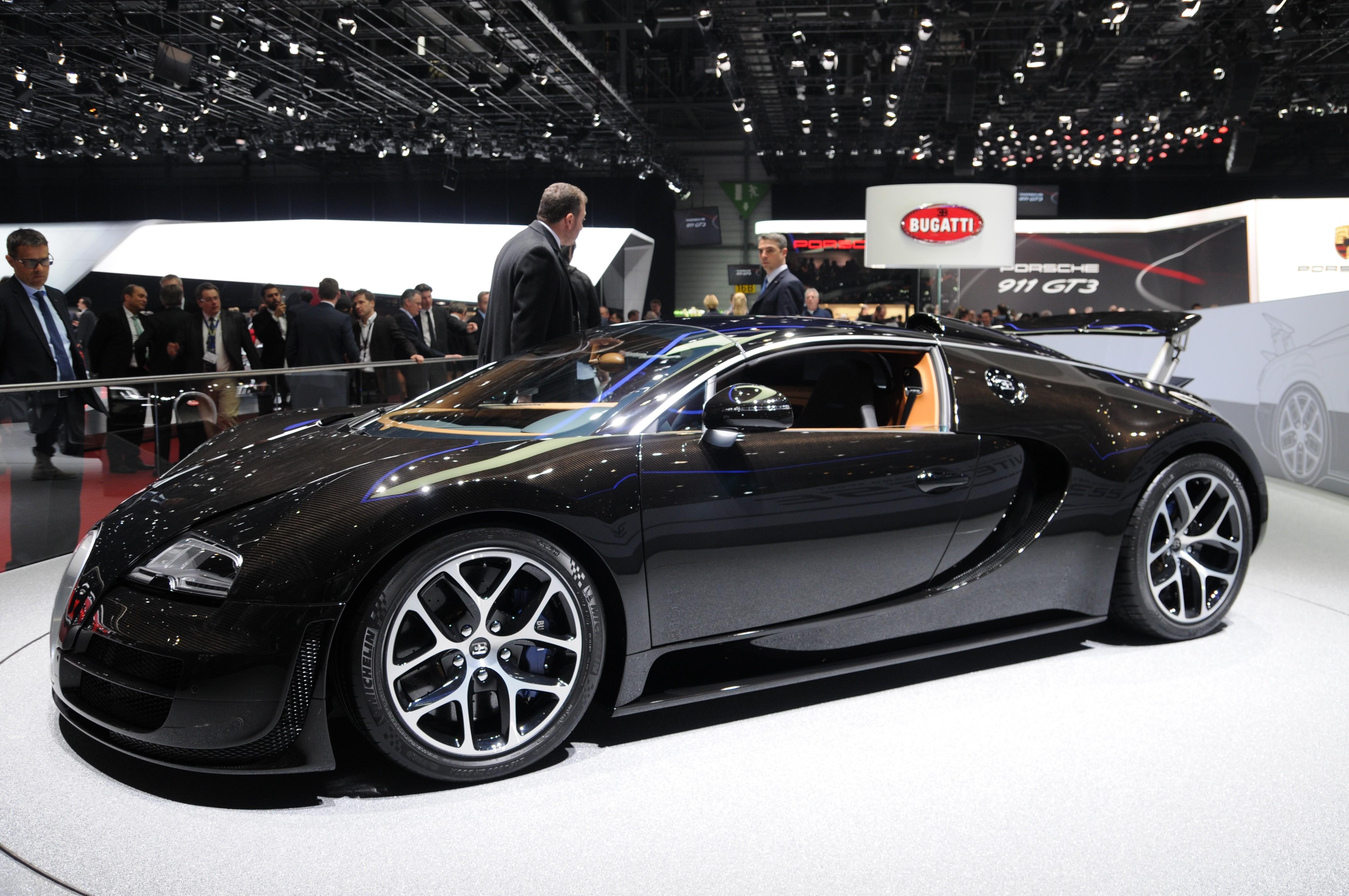 Bugatti Veyron Papercraft Bugatti Veyron Schwarz – Auto Bild Idee