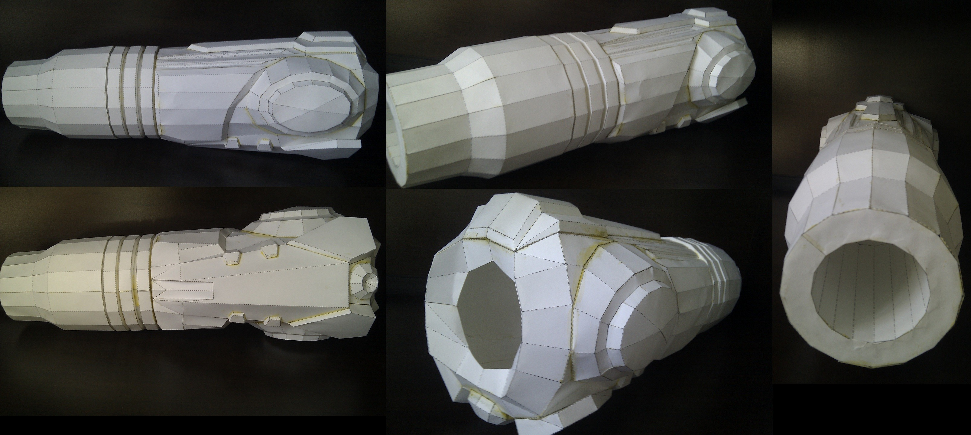 Cannon Papercraft Samus Arm Cannon Papercraft — Weasyl