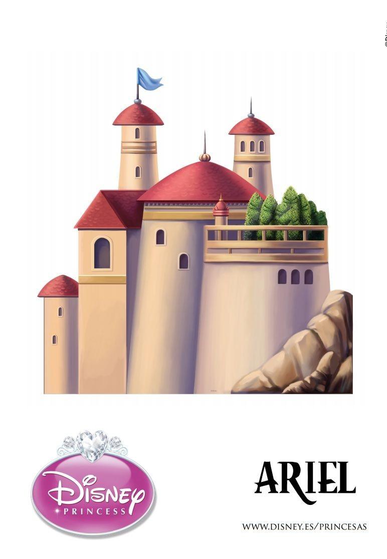 Castle Papercraft Castelos 3d Das Princesas Para Imprimir Disney Pinterest