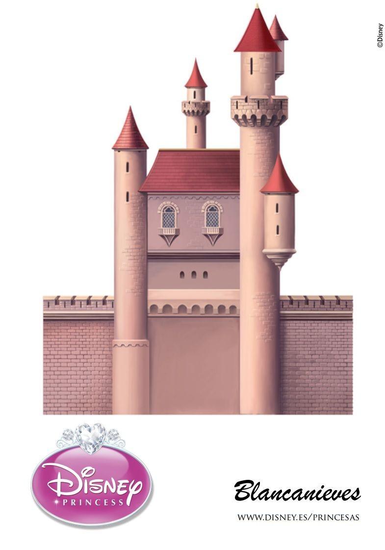 Castle Papercraft Snow White 3d Castle Page 2 Of 5 Disney Crafts Pinterest