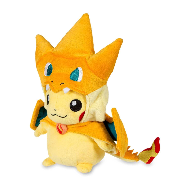 Charizard Papercraft Ficial Mega Charizard X Costume Pikachu Pokmon Plush