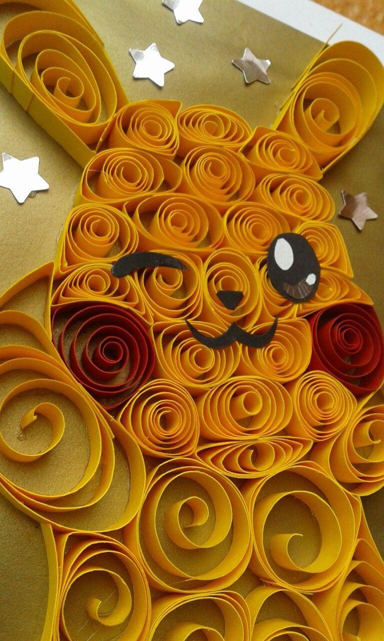 Charizard Papercraft Pokemon Pikachu Filigrana Danart Pokémon Quilling