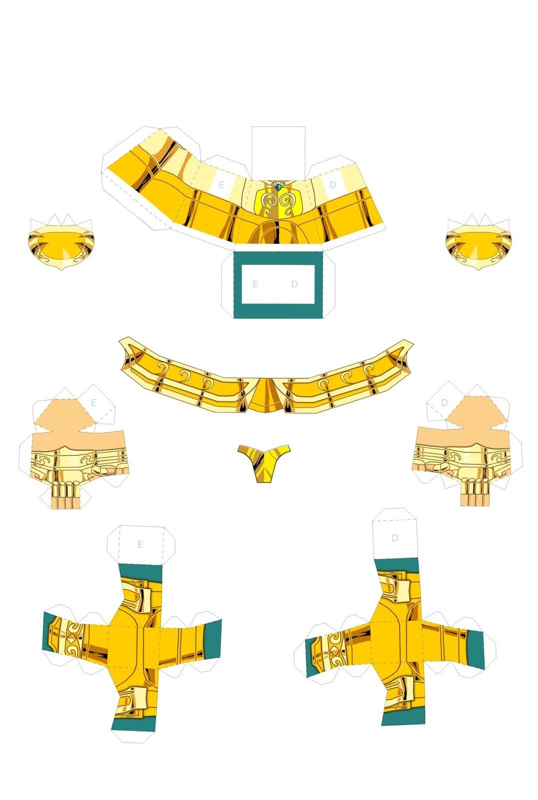 Chibi Papercraft Fenix Ikki Chibi Papercraft 2 1079—1600