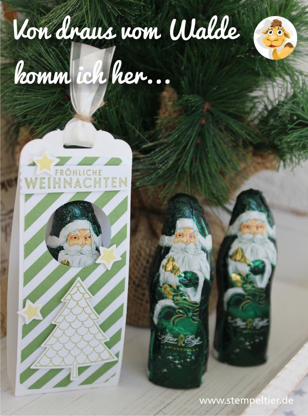Christmas Papercraft Von Draus Vom Walde Komm Ich Her