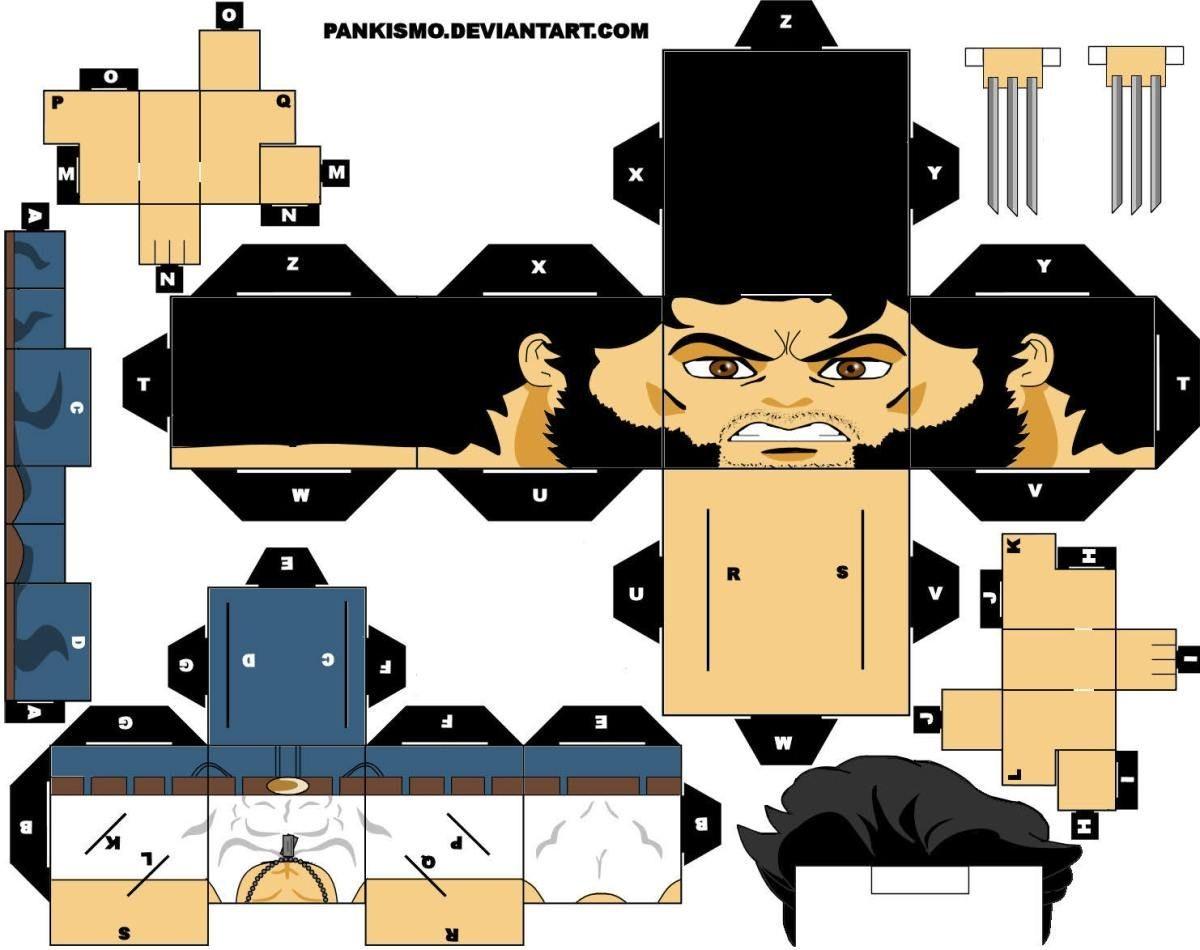 Daft Punk Papercraft Marvel En Cubeecraft Inspiraci³n ❤ Pinterest