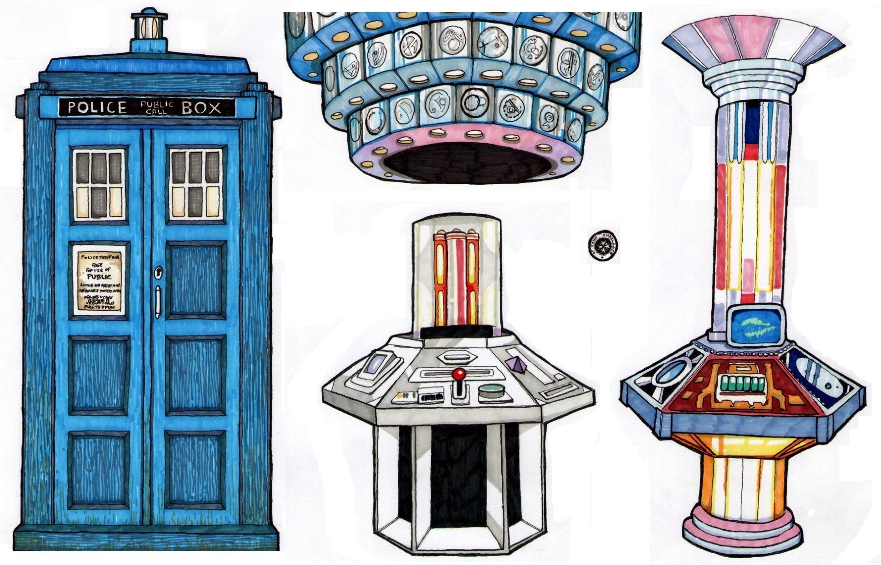 Dalek Papercraft Doctor who Dalek Paper Dolls Paper Dolls Pinterest