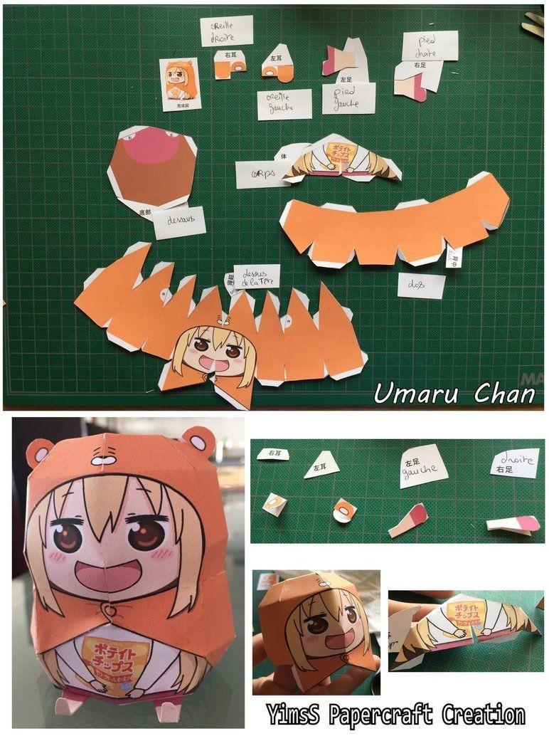 Death Note Papercraft Resultado De Imagen Para Umaru Chan Papercraft Humaru Chan