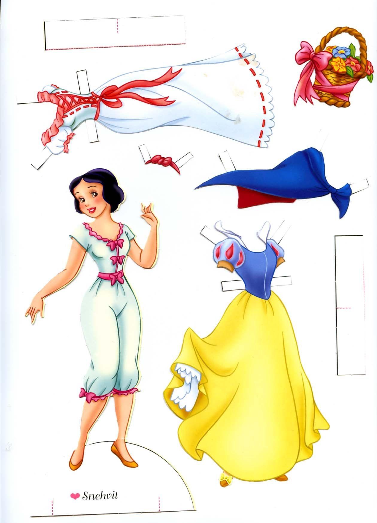 Disney Papercraft Disney Paper Doll … Paper Dolls
