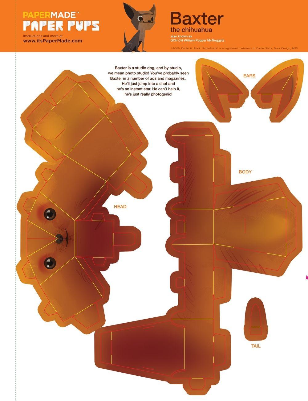 Domo Papercraft 3d Papercraft Robots Google Search