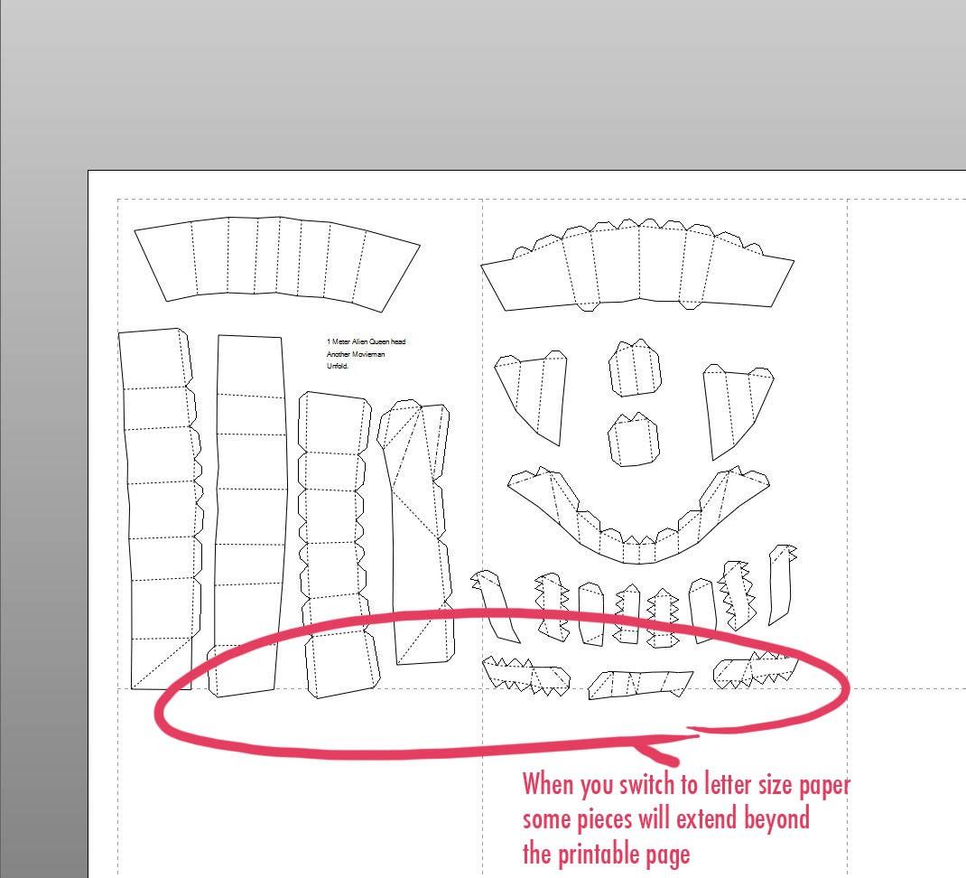 Dota Papercraft Pepakura Ausländische Königin Gunook