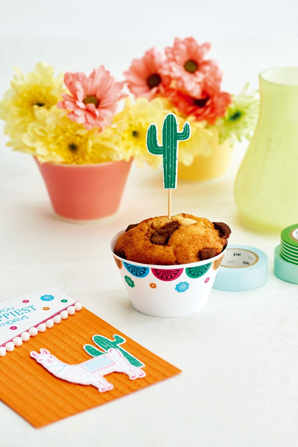 Food Papercraft How Adorable is This Muffin Case and topper Pairing From