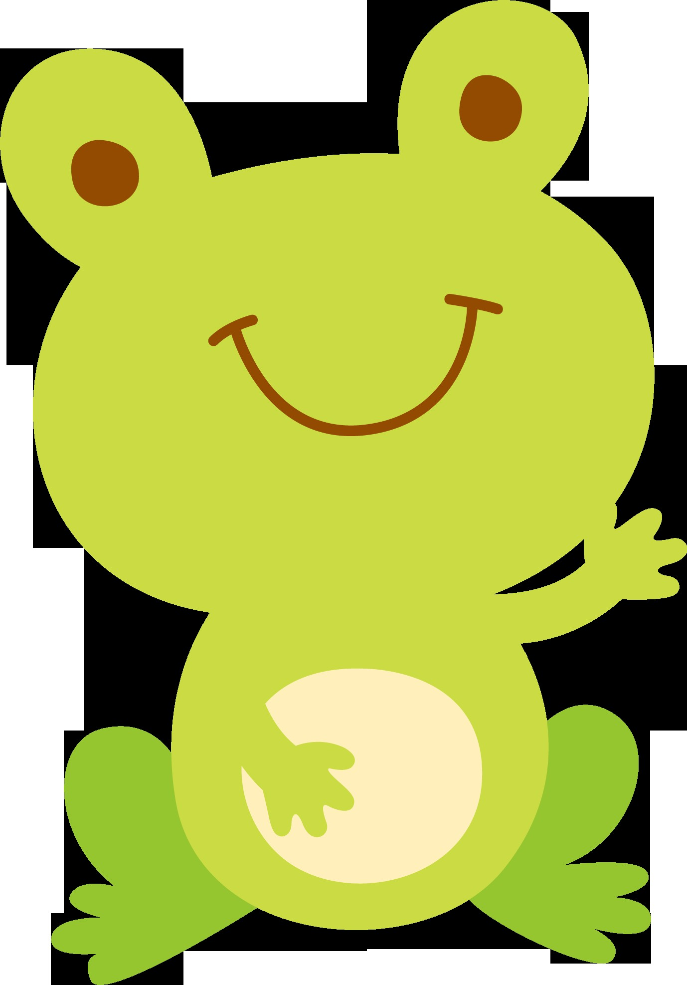 Frog Papercraft by Danimfalcao Minus Aplique Pinterest