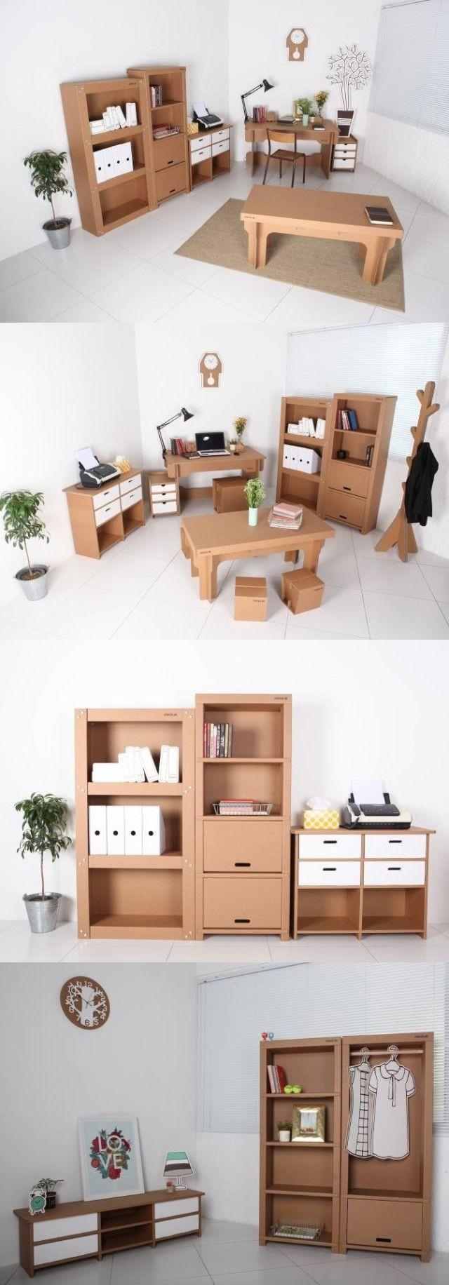 Furniture Papercraft Fa§a Vocª Mesmo M³veis De Papel£o