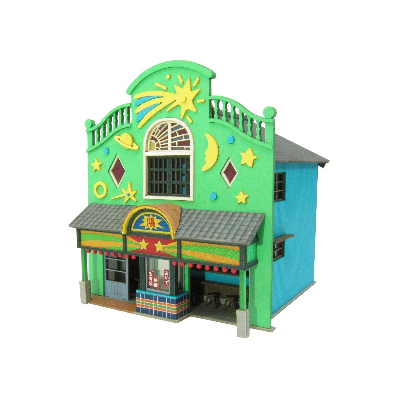 Ghibli Papercraft Studio Ghibli Spirited Away Strange town 1 Papercraft Kit 1 150