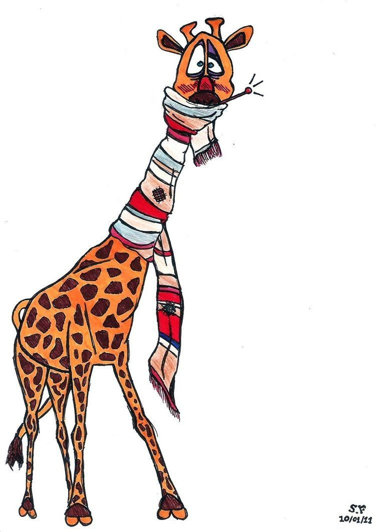Giraffe Papercraft A Sick Giraffe by Intothewild142 On Deviantart