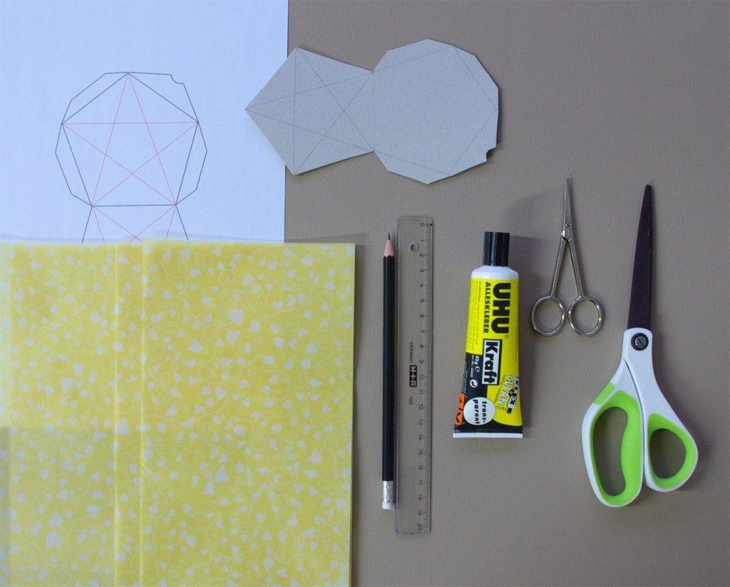 Green Lantern Papercraft origami Sterne 3d Falten Faltanleitung Lichterkette Basteln Sterne