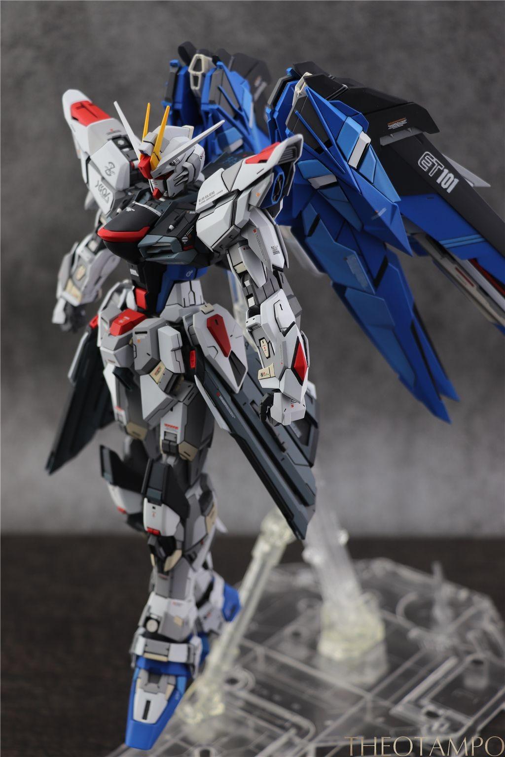 """Gundam Exia Papercraft Mg Freedom Gundam 2 0 自ç""""±é ˜è¾¾ æ—é™ç ´åº¦gk é ˜è¾¾æ¨¡åž‹ç ¼åˆè ¨è ºåŒº 78"""