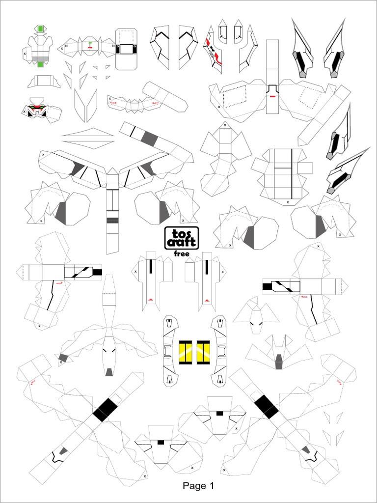 Gundam Papercraft Destiny Gundam Papercraft Download Free