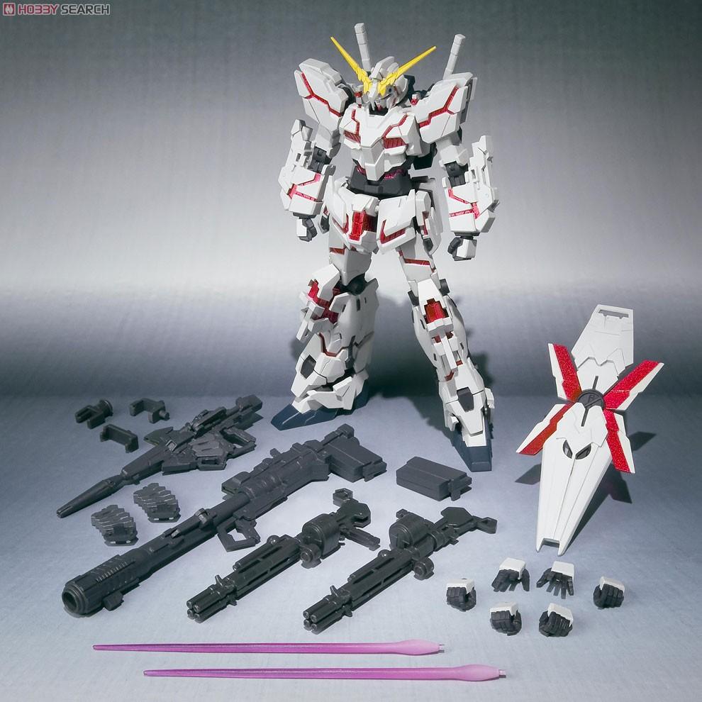 Gundam Unicorn Papercraft Gundam Meisters Robot Damashii 103 Unicorn Gundam Destroy Mode