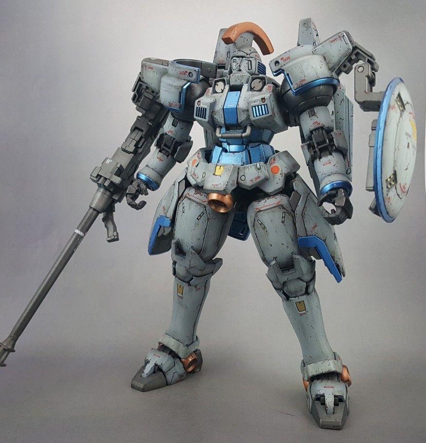 Gundam Wing Papercraft Gundam Wing Tallgeese Master Grade Custom Paint by Mike Lopez Gundam