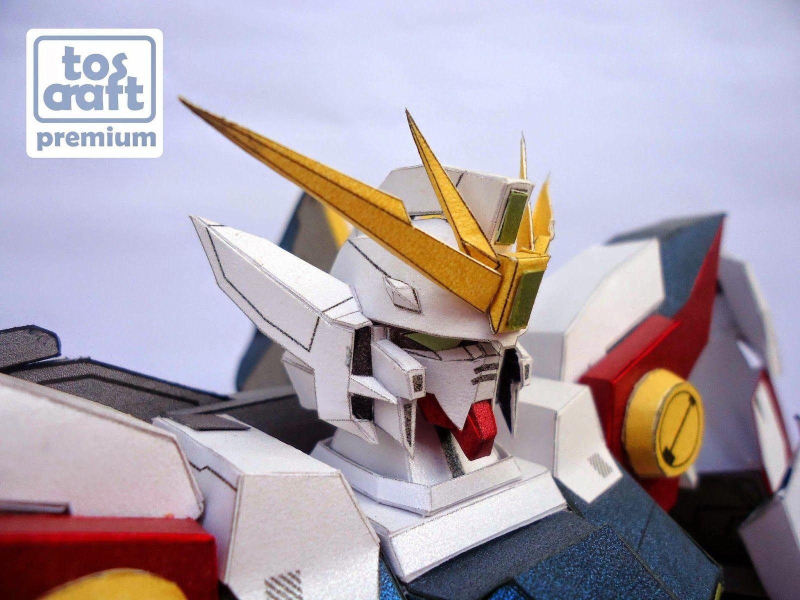 Gundam Wing Papercraft tos Craft Wing Zero Gundam 1 60 Papercraft Pepakura