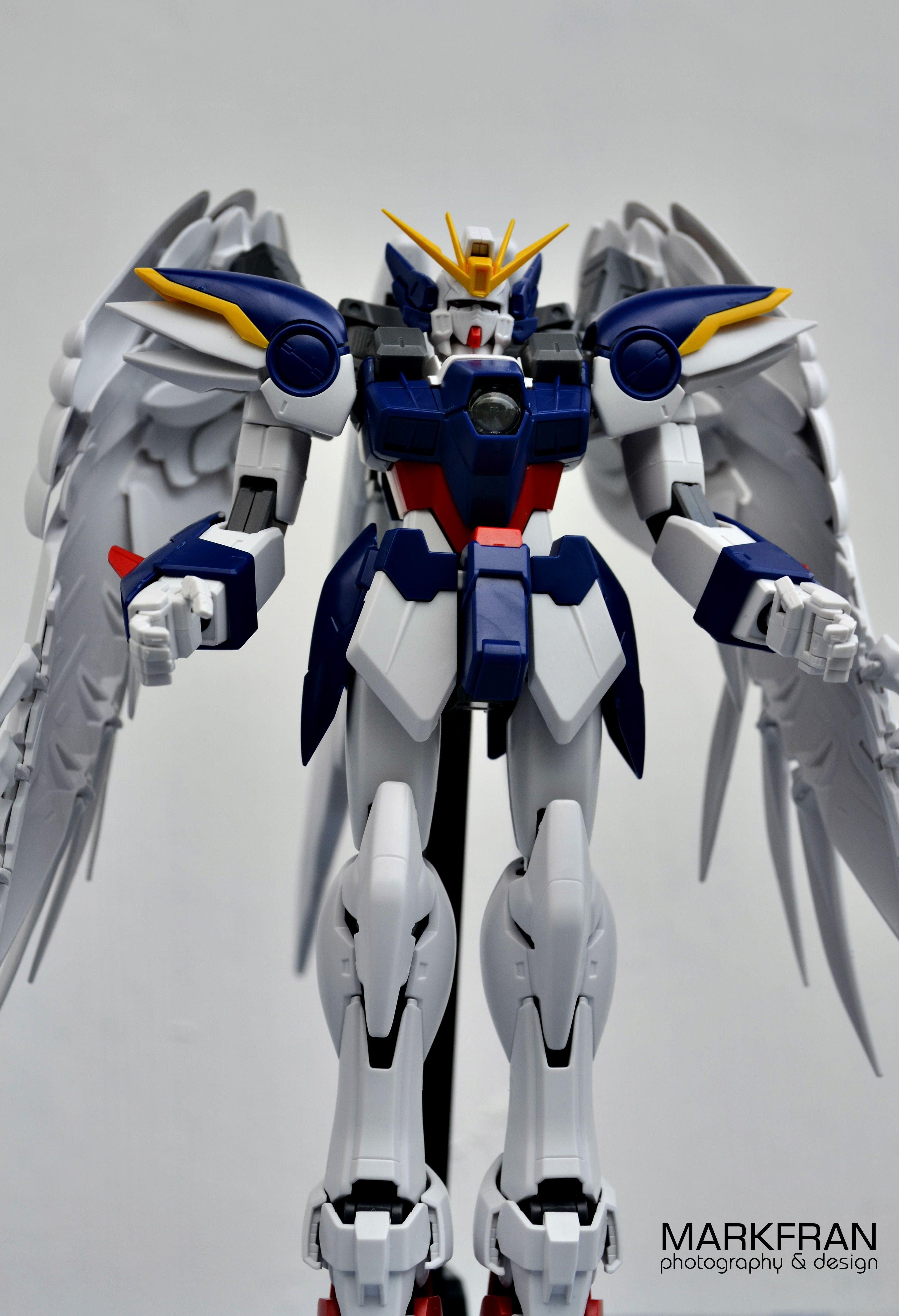 Gundam Wing Zero Papercraft Gundam Pg Wing Gundam Zero Custom Special Version Pearl Mirror