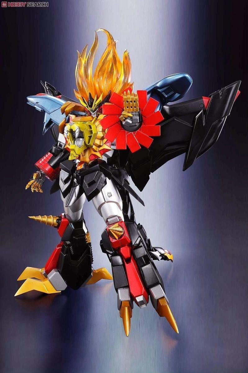 Gurren Lagann Papercraft Super Robot Chogokin Genesic Gaogaigar toys Pinterest