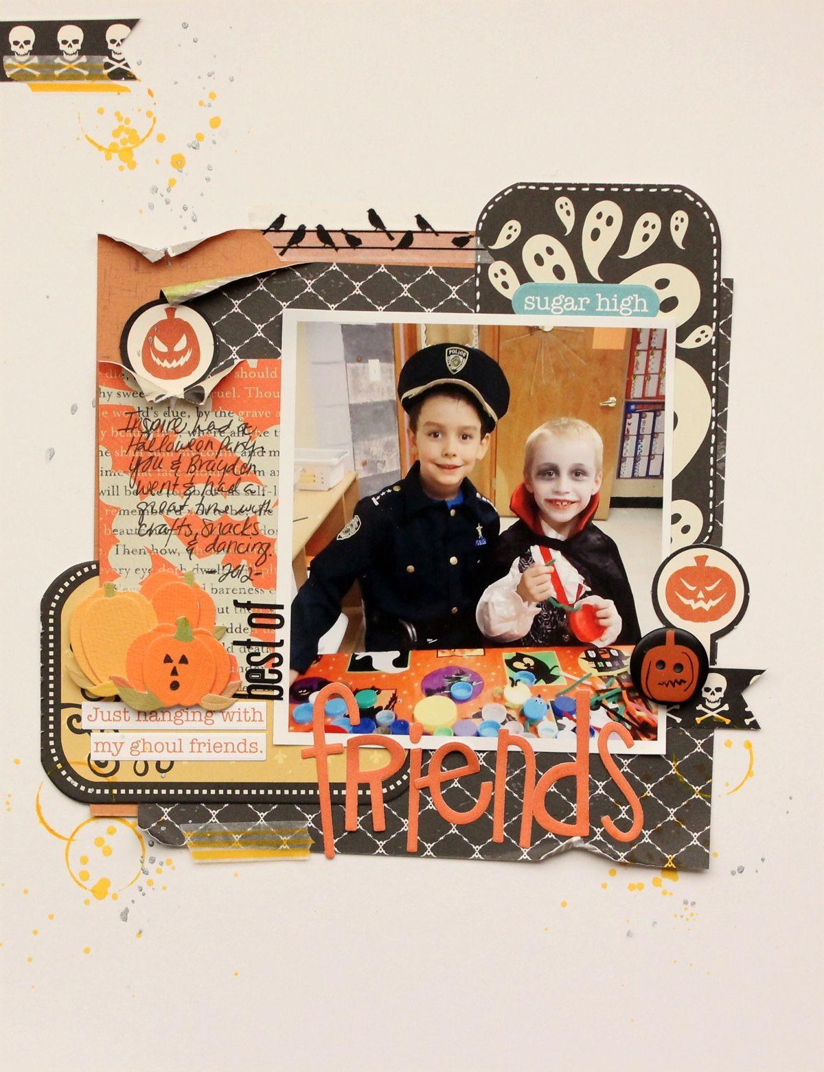 Halloween Papercraft Design by Diana More Halloween A Winner & An event