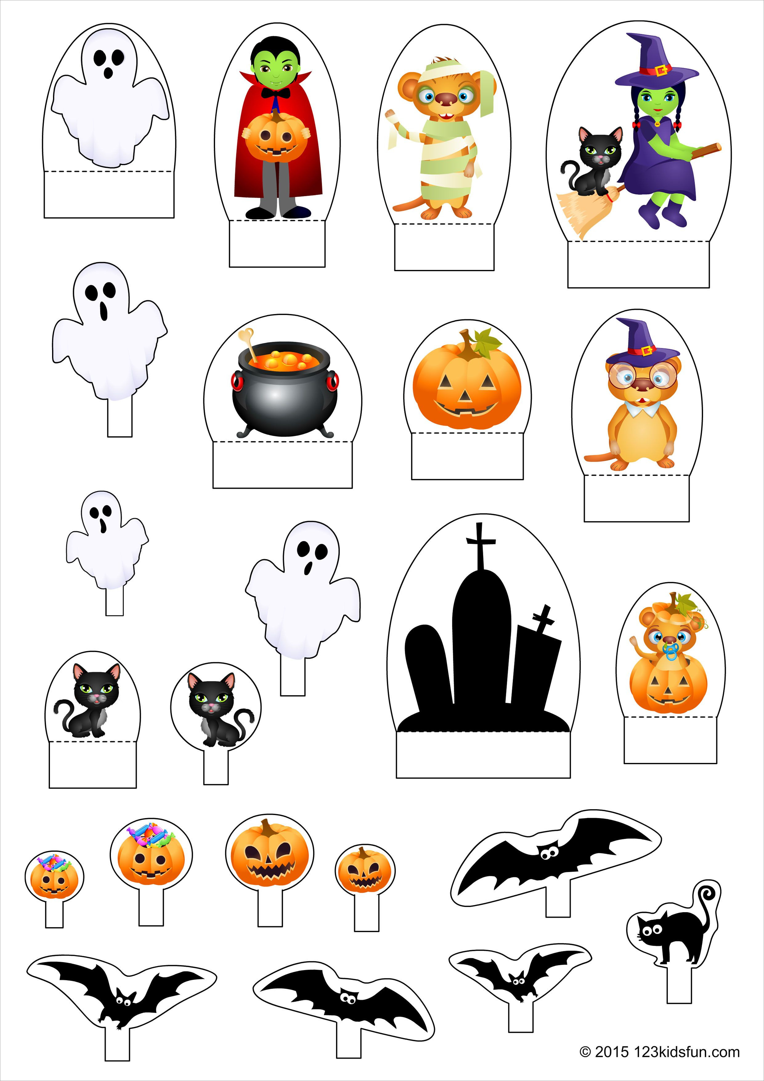 Halloween Papercraft Halloween Characters Papercraft