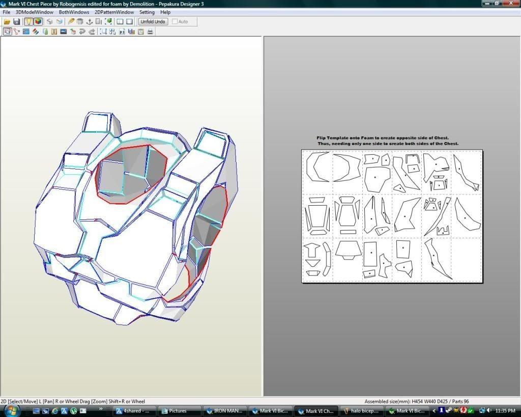 Halo Papercraft Helmet Pepakura File Index Dibujos Sugar Skull Armaduras Y Dibujo