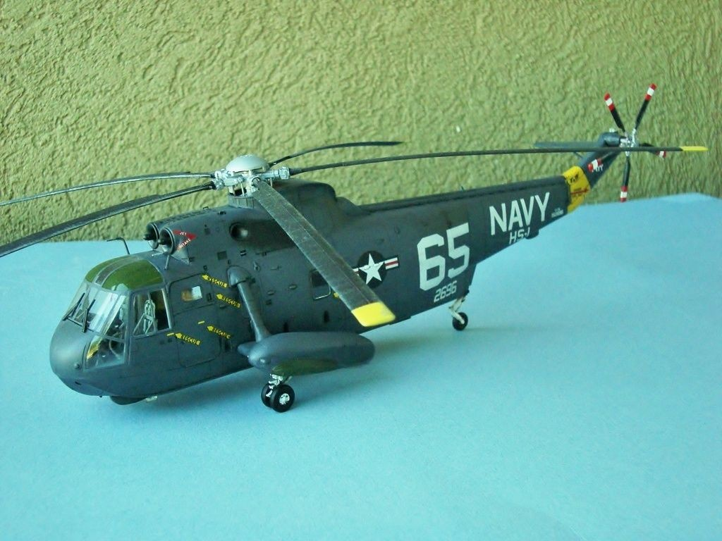 Helicopter Papercraft Hasegawa 1 48th Scale Sh 3h Seaking