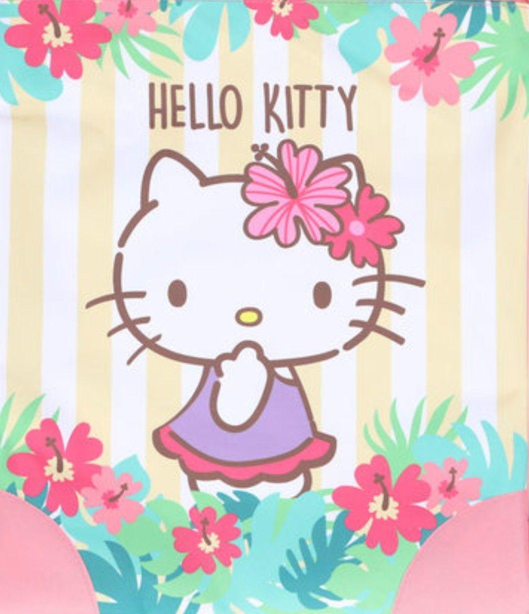 Hello Kitty Papercraft Hello Kitty Knapsack Tropical Pink Hello Kitty