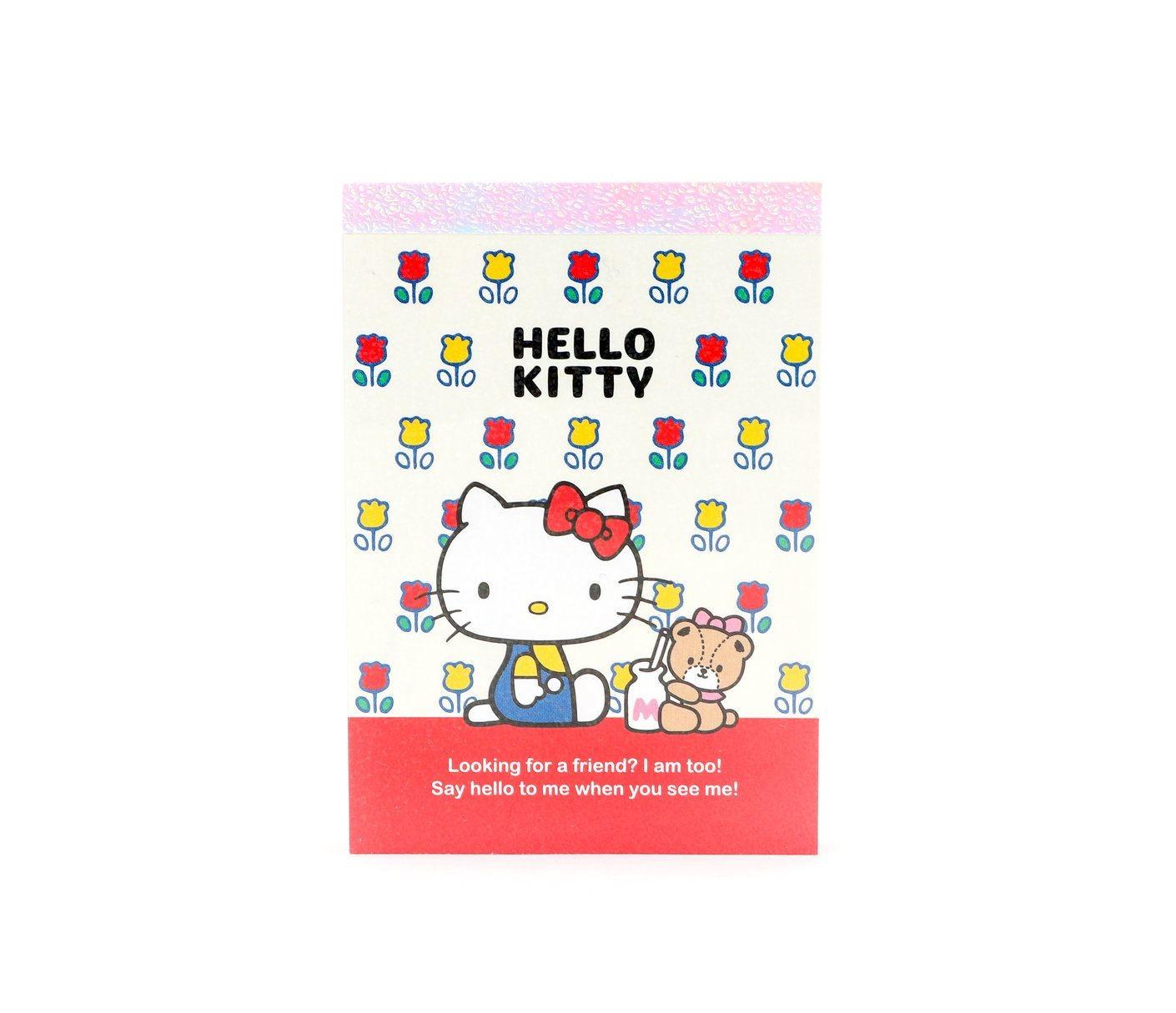 Hello Kitty Papercraft Hello Kitty Mini Memo Pad Tulips O F F I C E Pinterest