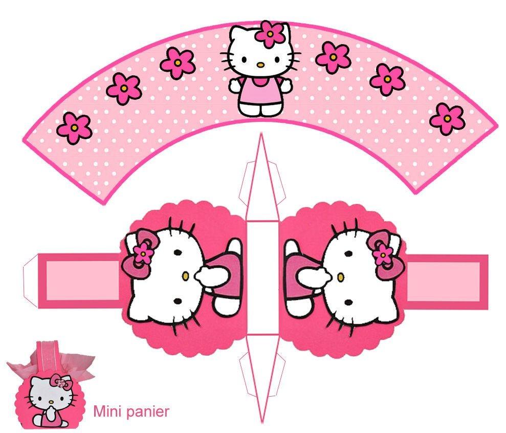 Hello Kitty Papercraft theme Hello Kitty Pour Faire Plaisir 1 Et 2 Et 3 Doudous Patrons