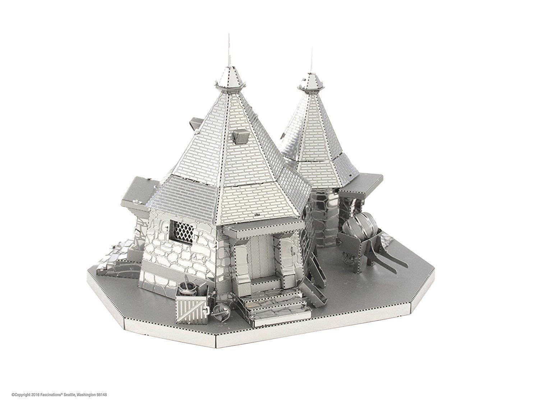 Hogwarts Papercraft 3d Metal Puzzle Fascinations Metal Earth Harry Potter Hagrid S Hut