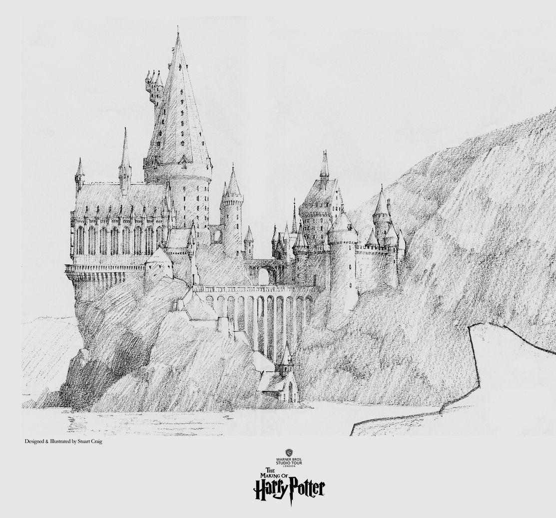 "Hogwarts Papercraft A View Of Hogwarts"" Pop Culture and Harry Potter Art"